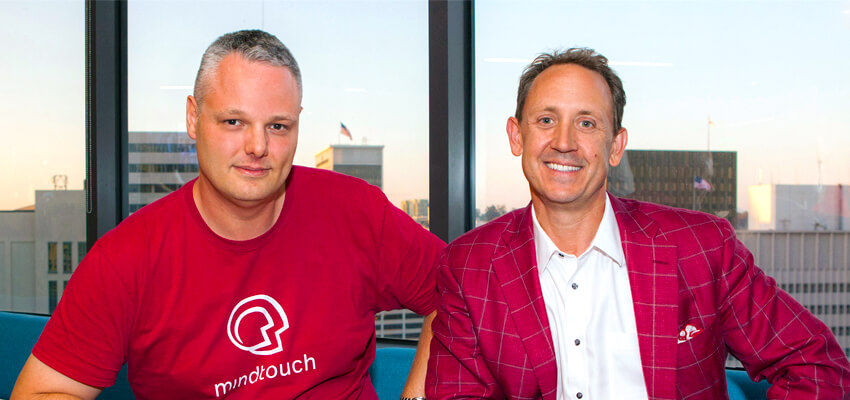 MindTouch Founders Steve Bjorg Aaron Fulkerson