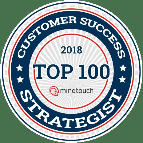 2018 Top Customer Success - Top 100 Badge